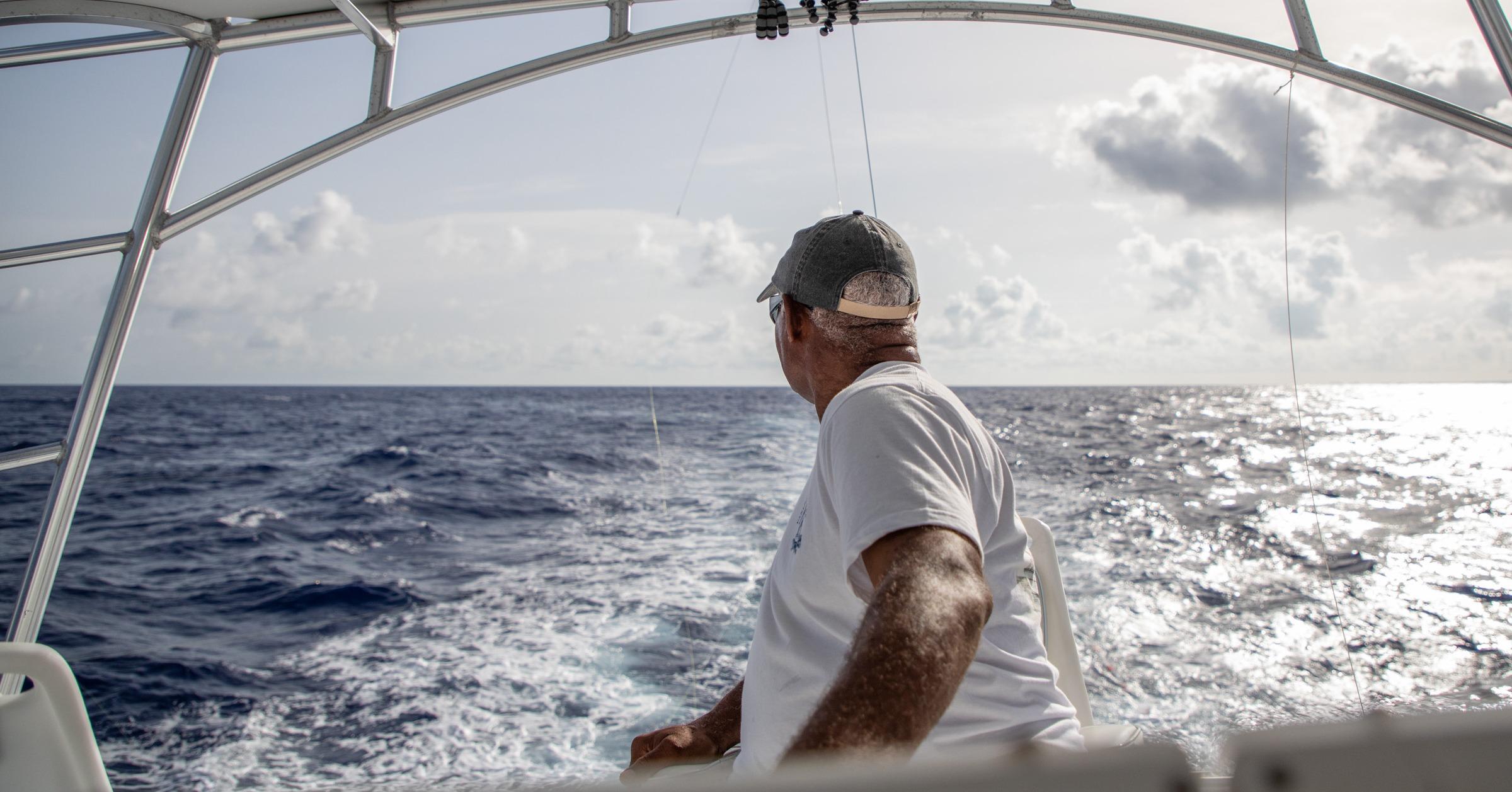 Big Game fishing chartered boat