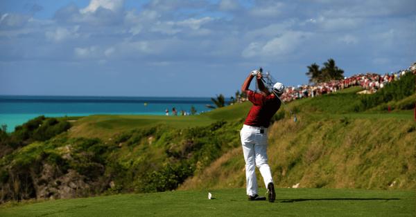 golfing bermuda in august