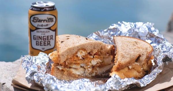 bermuda fish sandwich in september