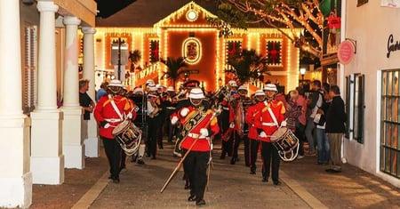 Bermuda military band christmas parade