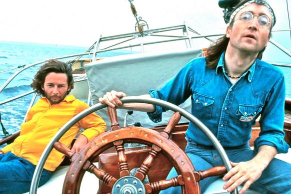 John lennon sailing to Bermuda