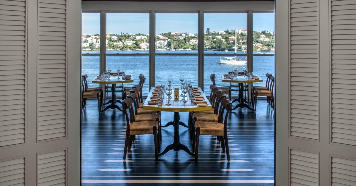marcus view in bermuda dining