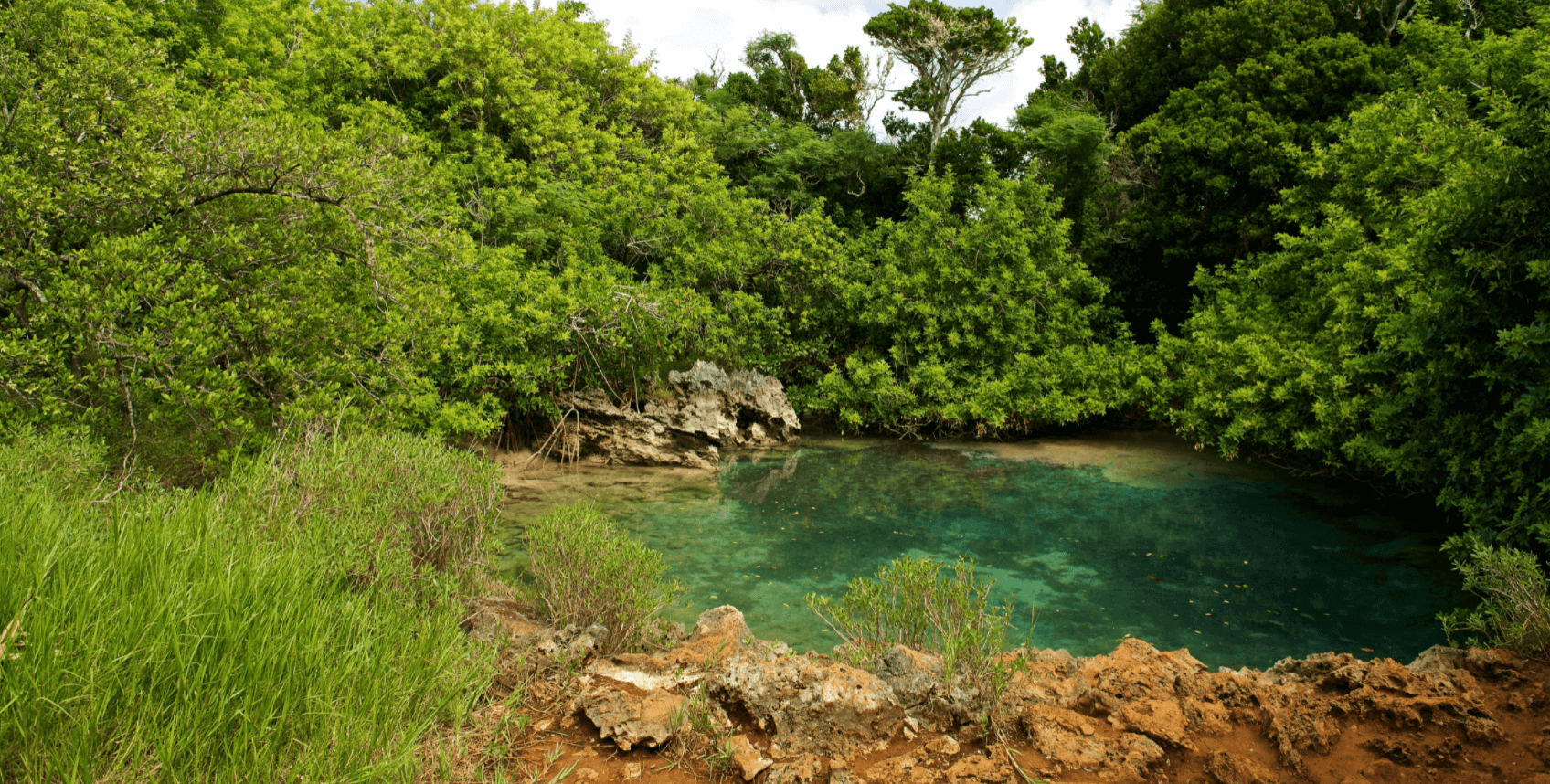 blue hole and walsingham cave