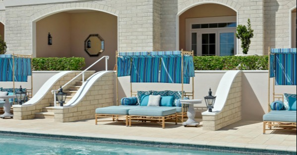 rosewood bermuda pool for the kids