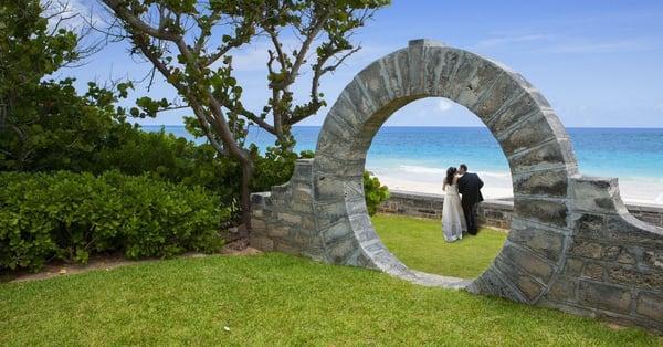 bermuda in february very romantic couple