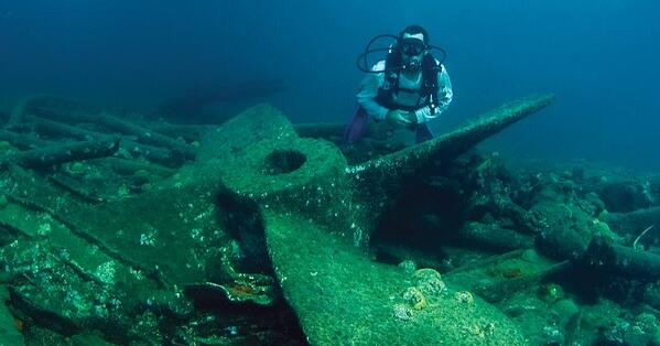shipwreck in bermuda sunken treasure and adventure