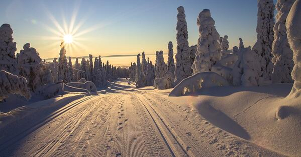 lapland winter wonderland place to explore