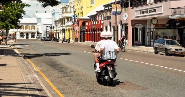 Bermuda's bustling island life